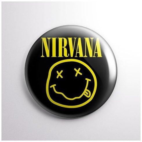 Nirvana - Smile kitűző