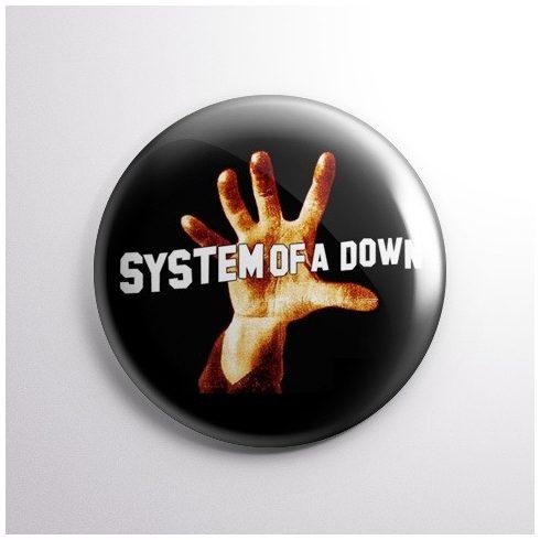 System of a Down - Hand kitűző