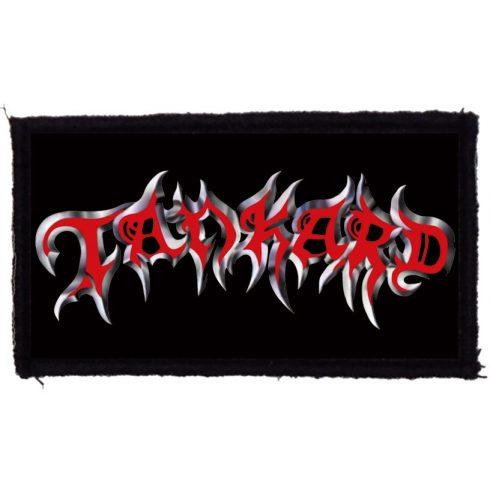 Tankard - Logo felvarró