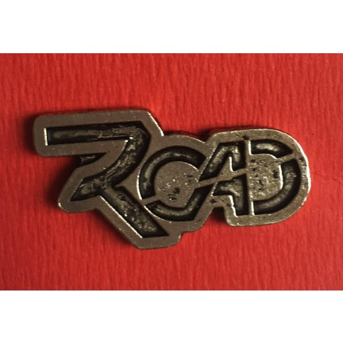 Road - Logo fém jelvény