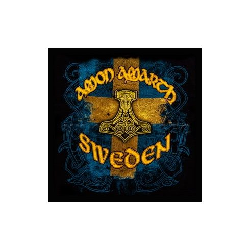 Amon Amarth - Sweden Logo felvarró