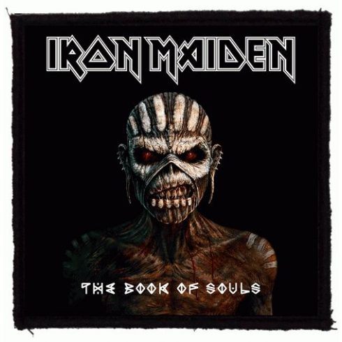 Iron Maiden - Book Of Souls felvarró