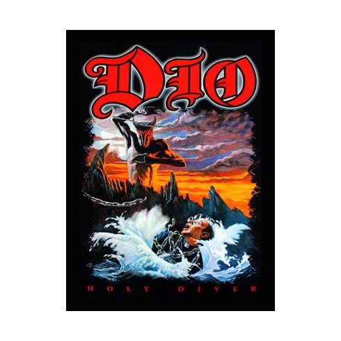 Dio - Holy Diver felvarró