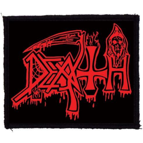 Death - Logo felvarró