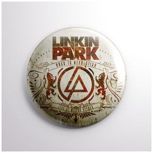 Linkin Park - Road kitűző