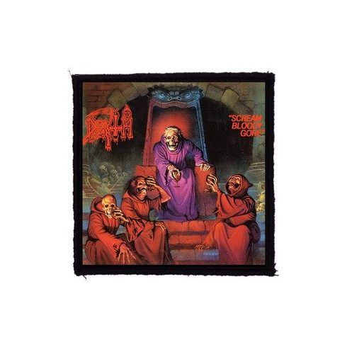 Death - Scream Bloody felvarró