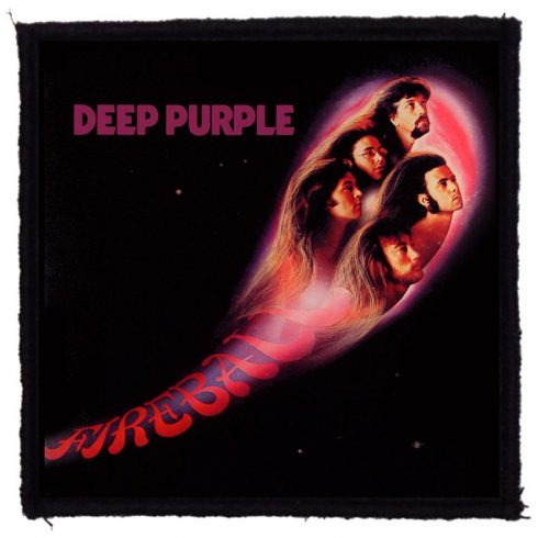 Deep Purple - Fireball felvarró
