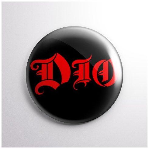 Dio - Logo kitűző
