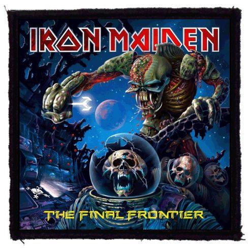 Iron Maiden - Final Frontier felvarró