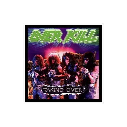 Overkill - Taking Over felvarró
