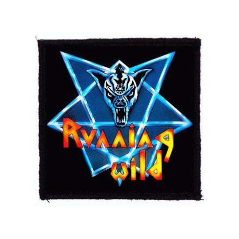 Running Wild - Logo felvarró