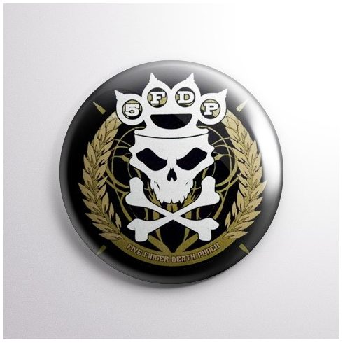 Five Finger Death Punch - Knuckle kitűző