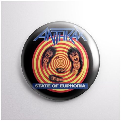 Anthrax - State of Euphoria kitűző