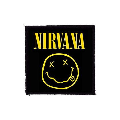 Nirvana - Smile felvarró