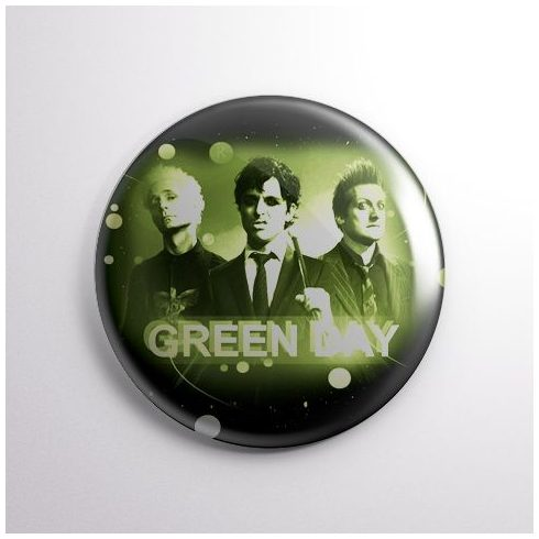 Green Day - Band kitűző