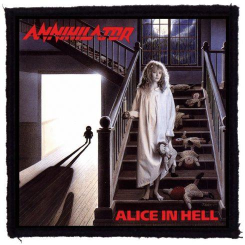 Annihilator - Alice In Hell felvarró