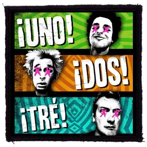Green Day - Uno Dos felvarró