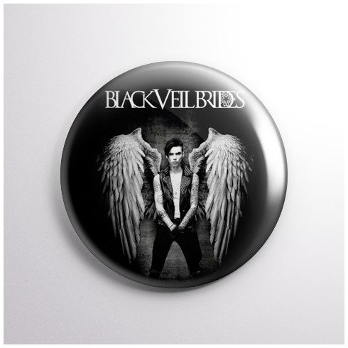 Black Veil Brides - Angel kitűző