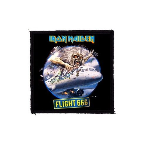 Iron Maiden - Flight 666 felvarró