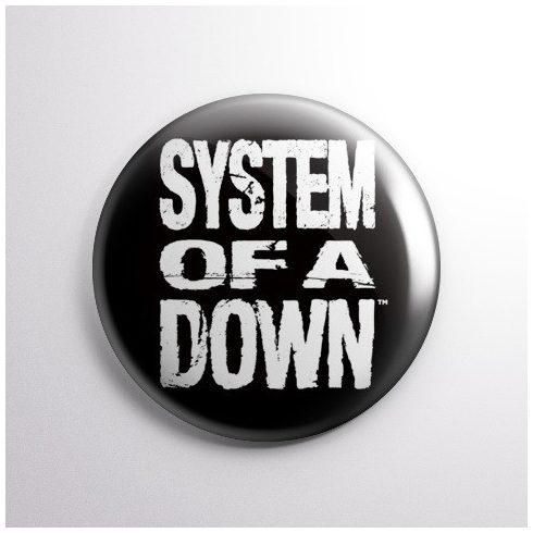 System of a Down - Logo kitűző