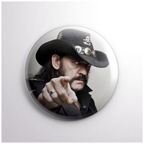 Motörhead - Lemmy kitűző