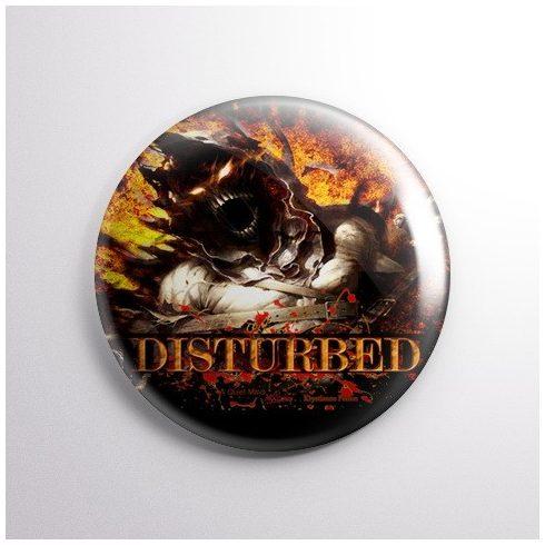 Disturbed - Asylum kitűző