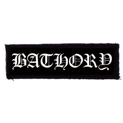Bathory - Logo felvarró