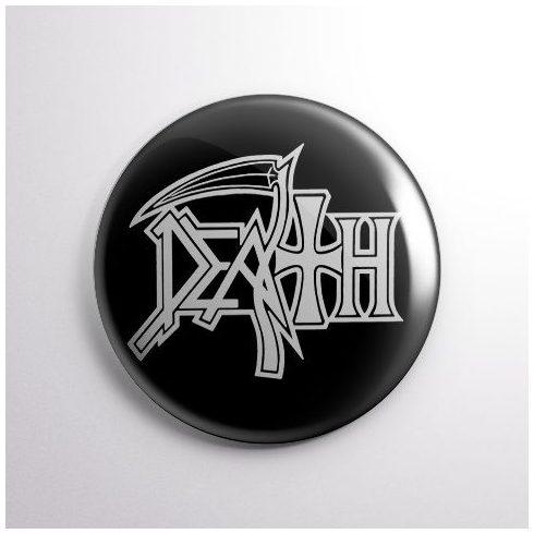 Death - Logo kitűző