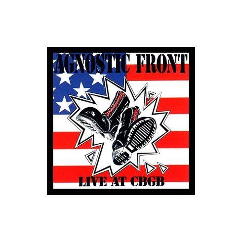 Agnostic Front - Live CBGB felvarró