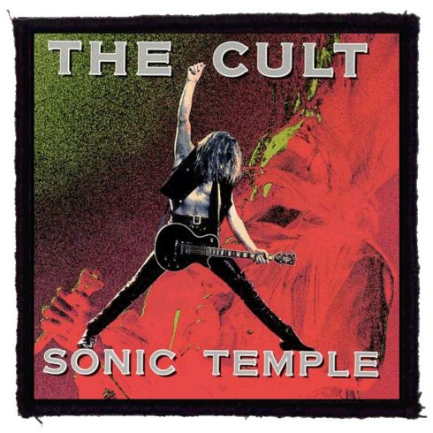 The Cult - Sonic Temple felvarró