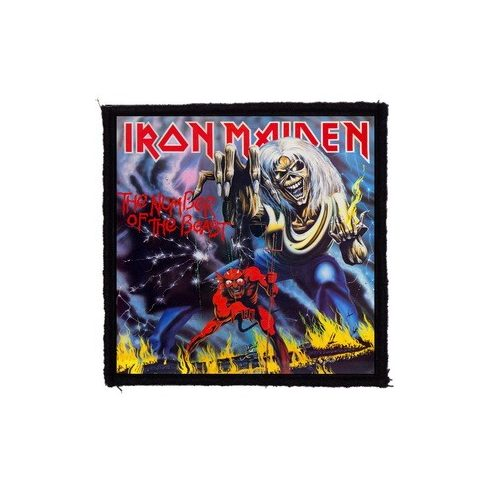 Iron Maiden - The Number felvarró
