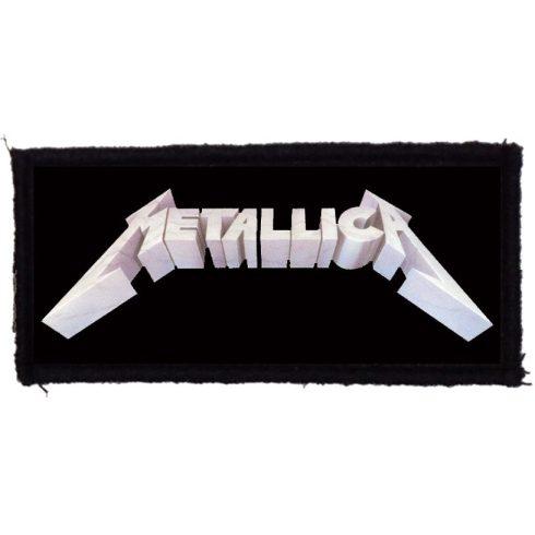 Metallica - Classic Logo felvarró