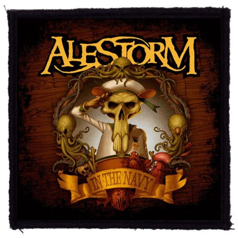 Alestorm - In The Navy felvarró