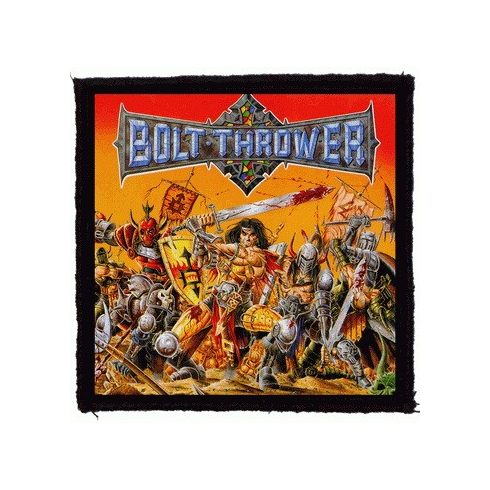 Bolt Thrower - War Master felvarró