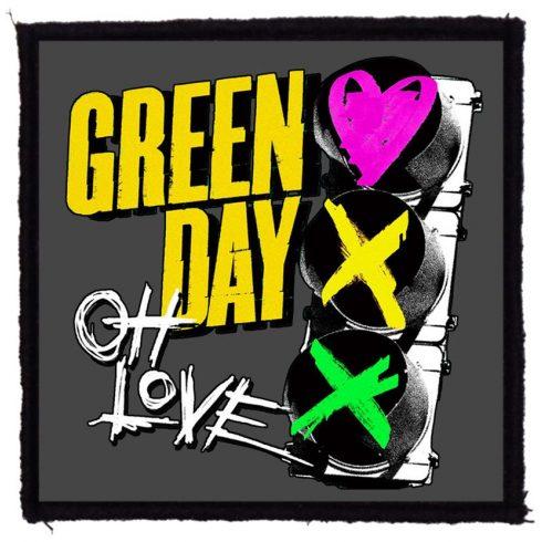 Green Day - Oh Love felvarró