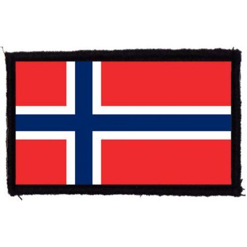 Norvég zászló felvarró