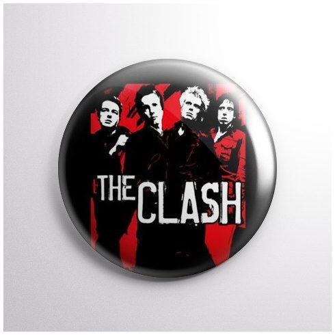 The Clash kitűző