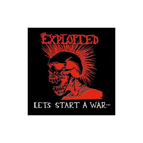Exploited - Lets Start felvarró