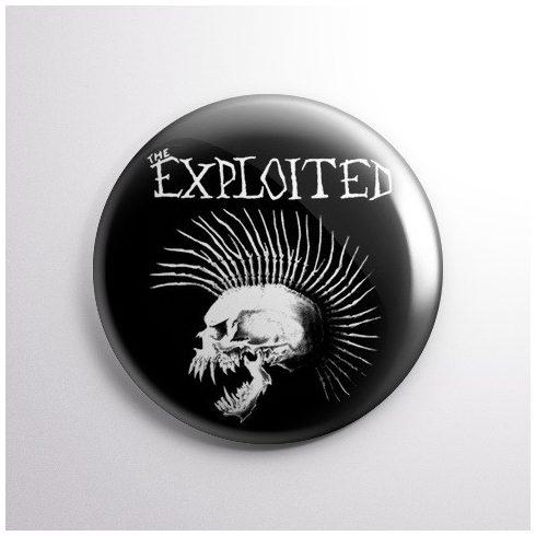 The Exploited kitűző