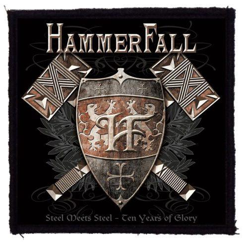 Hammerfall - Steel felvarró