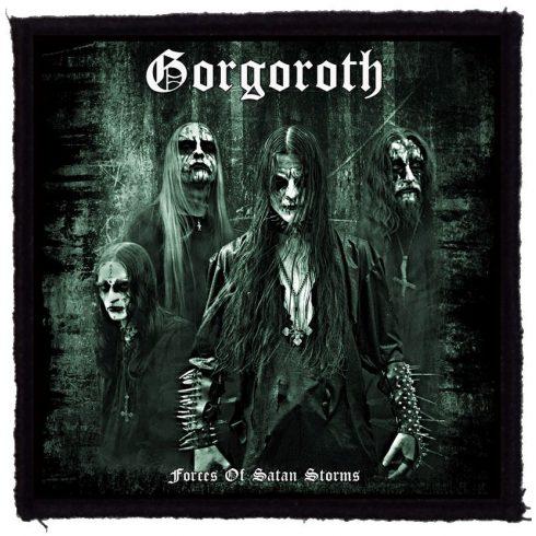 Gorgoroth - Forces Of Satan Storms felvarró