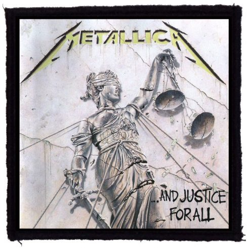 Metallica - And Justice felvarró