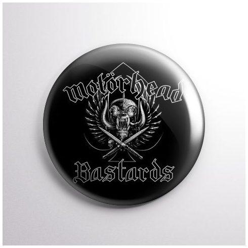 Motörhead - Bastards kitűző