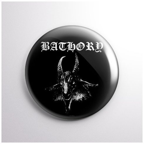 Bathory - Goat kitűző