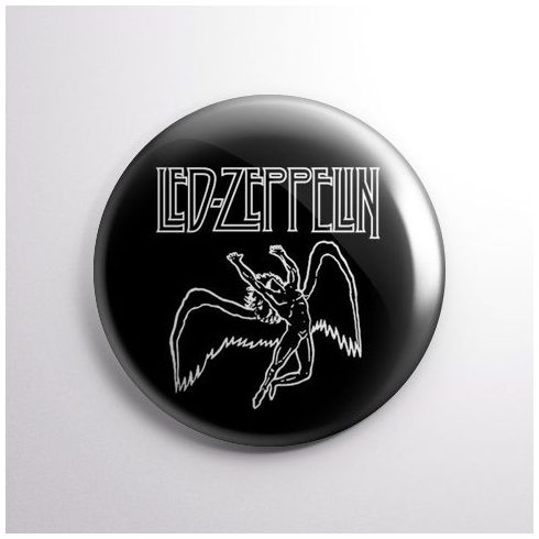 Led Zeppelin - Angel kitűző