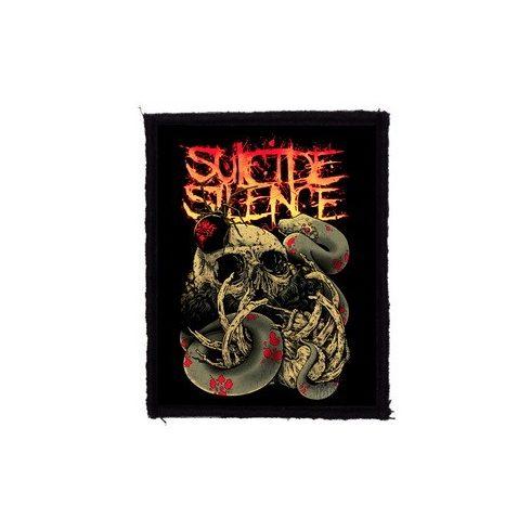 Suicide Silence - Skull felvarró