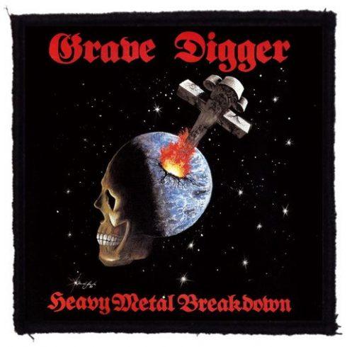 Grave Digger -  Heavy Metal felvarró
