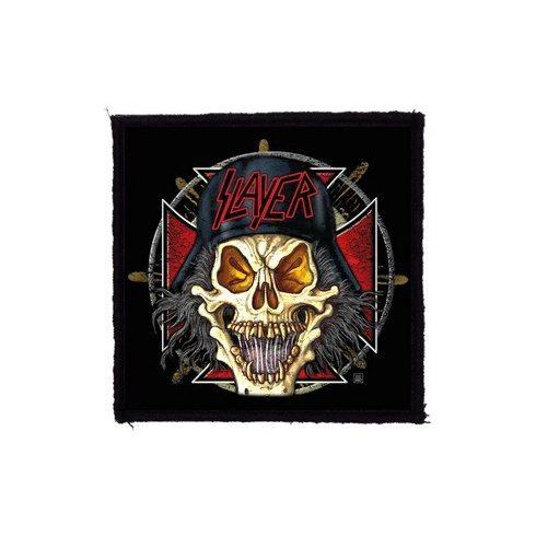 Slayer - Skull felvarró