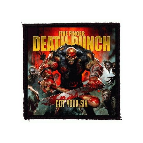 Five Finger Death Punch - Got Your Six felvarró