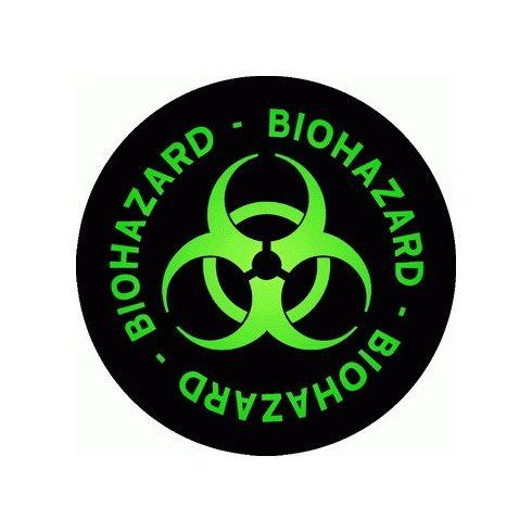 Biohazard - Logo Circle felvarró